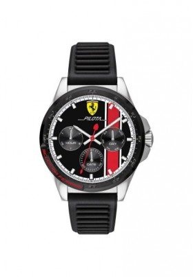 Uhr Multifunktions Herren Scuderia Ferrari Pilota FER0830661