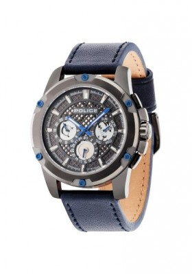 Watch Man POLICE Multifunction GRID