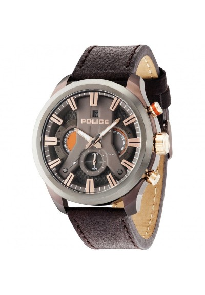 Watch Man POLICE Cronograph CYCLONE