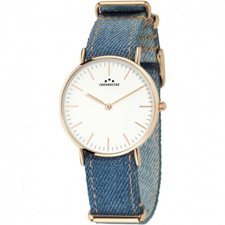 Watch Woman CHRONOSTAR Only Time PREPPY JEANS