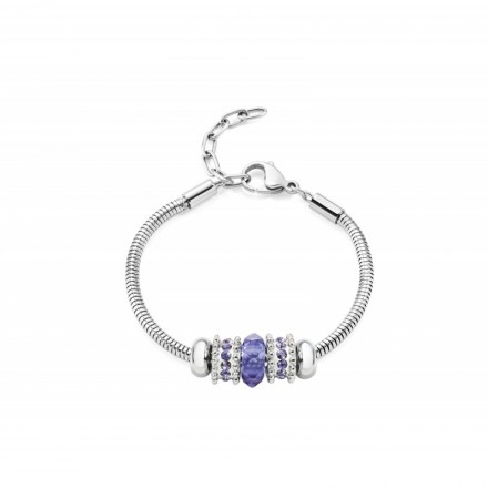 Bracelet MORELLATO CHARMS LILLA DROPS SCZ536
