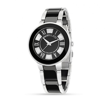 Watch MORELLATO ROMA CERAMIC LILAC BLACK R0153118502