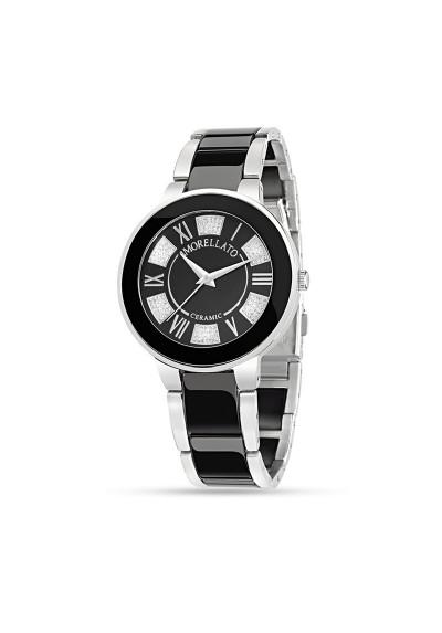 Orologio MORELLATO ROMA CERAMIC LILAC BLACK R0153118502