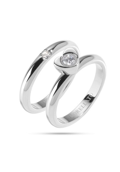 Ring MORELLATO LOVE RINGS ARGENTO SNA35