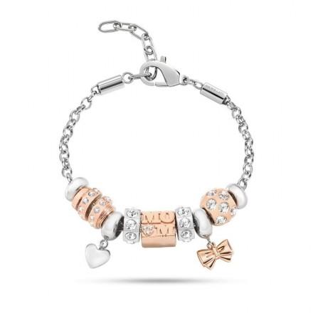 Bracelet MORELLATO CHARMS ROSA ORO DROPS SCZ506