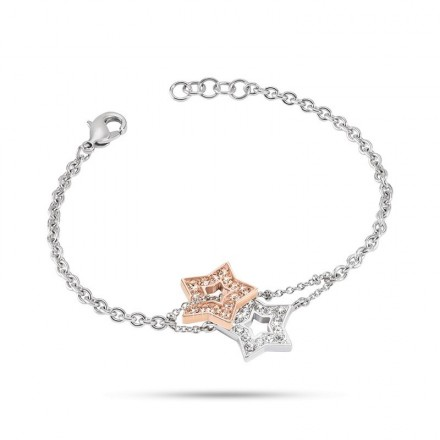 Bracelet MORELLATO ABBRACCIO ARGENTO ORO ROSA SABG08