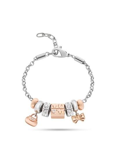 Bracelet MORELLATO CHARMS ROSA ORO DROPS SCZ505