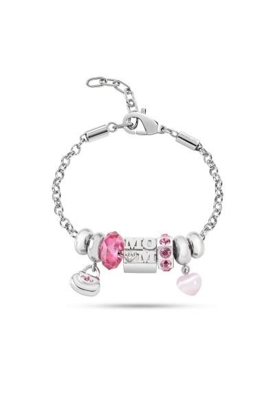 Bracelet MORELLATO CHARMS ROSA DROPS SCZ502