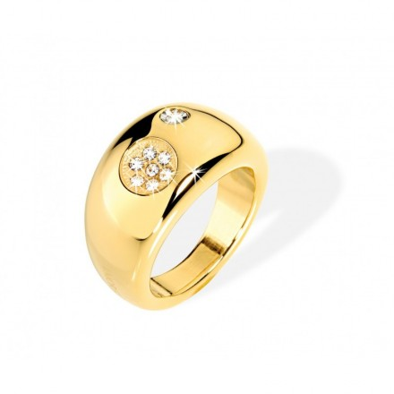 Ring MORELLATO LUNA ORO CON SWAROVSKI SO511