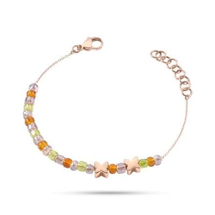 Bracelet MORELLATO ICONE MORE PERLINE COLORATE SABS06
