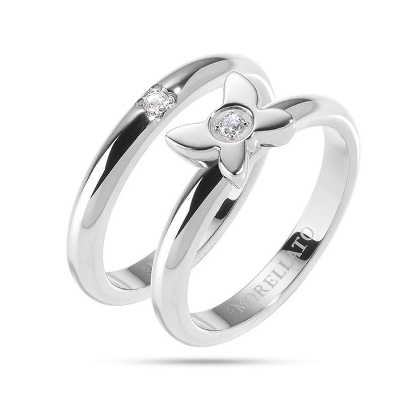 Ring MORELLATO LOVE RINGS ARGENTO SNA36