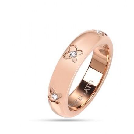 vasta selezione di 0ba46 e2f50 Anello MORELLATO LOVE RINGS ORO ROSA SNA28