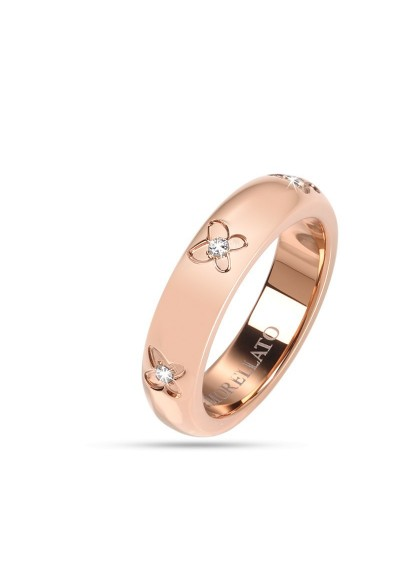 Anneau MORELLATO LOVE Rings ORO ROSA SNA28