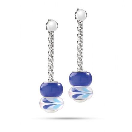 Orecchini MORELLATO DROPS BLUE SCZ495