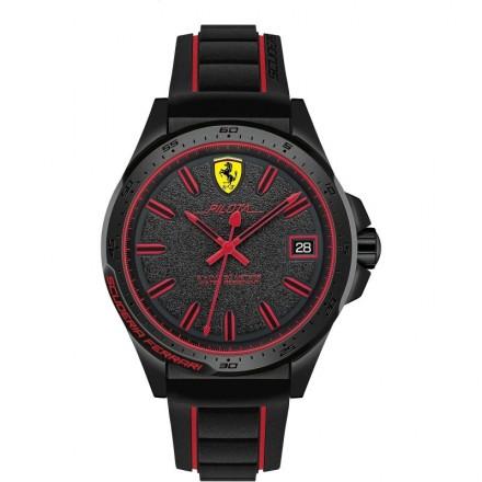 Watch Chronograph Man FERRARI PILOTA FER0830421