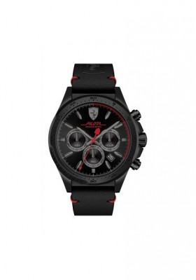 Watch Chronograph Man FERRARI PILOTA FER0830434