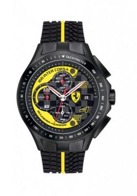 Watch Chronograph Man FERRARI RACE FER0830078