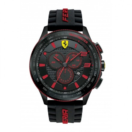 Watch Chronograph Man FERRARI SCUDERIA XX FER0830138