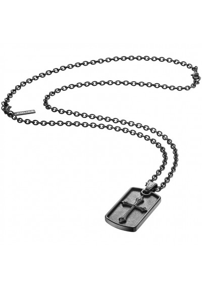 Collier Homme Bijoux POLICE KNIGHTS S14AJH01P