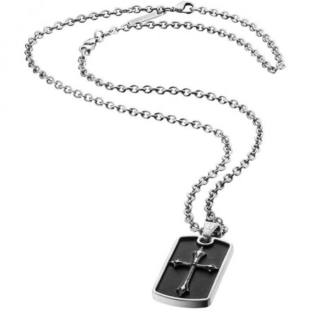 Necklace Man Jewels POLICE KNIGHTS S14AJH03P