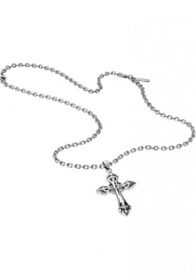 Necklace Man Jewels Police Blessing Croce S14AEB01P