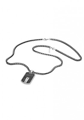 Necklace Man Jewels Police Hybrid S14ABN01P