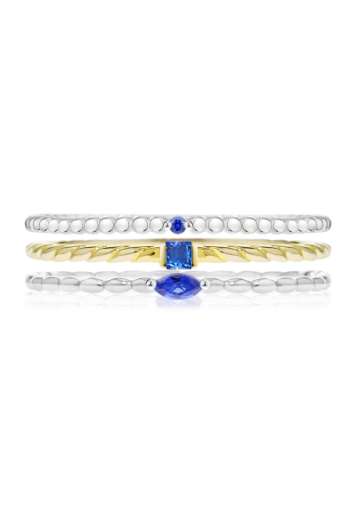 3-PIECE RING SET MORELLATO 1930 SAHA13