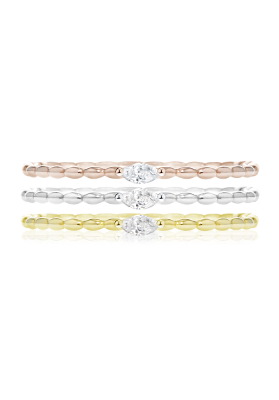 3-PIECE RING SET MORELLATO 1930 SAHA15