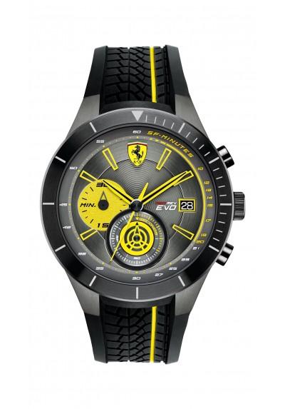 Orologio Uomo FERRARI Cronografo REDREV EVO