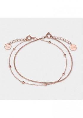 Set Armband frau Schmuck Damen CLUSE Essentielle in Roségold CLUCLJ10010