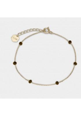 Bracciale Donna CLUSE Essentielle con cristalli neri CLUCLJ11013