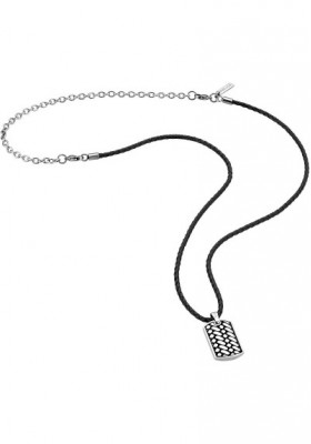 Necklace Man Jewels Police Double Impact S14AMJ01P