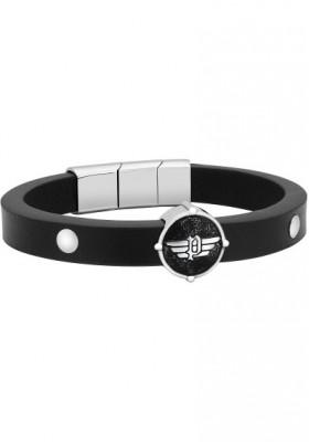 Bracelet Man Jewels Police Edgy S14AMK01B