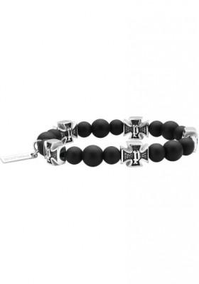 Bracelet Man Jewels Police Crossball S14AMR02B