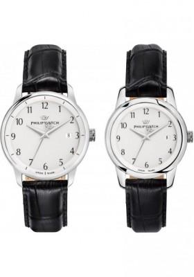 Set 2 Orologi Solo Tempo Uomo Philip Watch Anniversary R8251150003