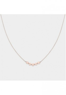 Necklace Woman Essentielle Cluse pink gold CLUCLJ20001