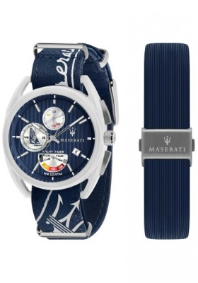 Watch Chronograph Man Maserati Trimarano R8851132003