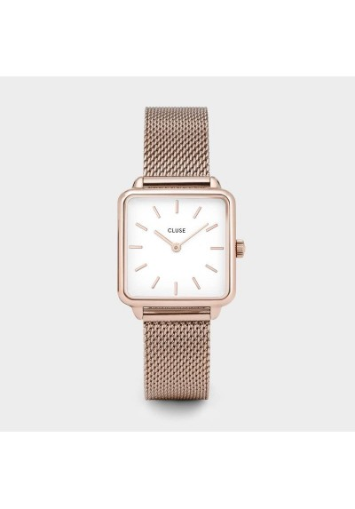 Watch Woman La Garconne Cluse pink gold CLUCL60003
