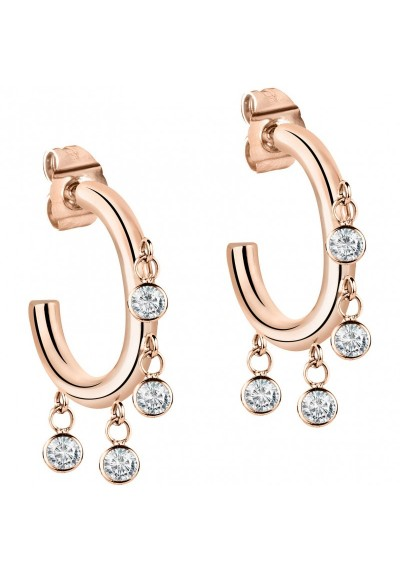 Earrings Woman Jewels Morellato Cerchi SAKM54