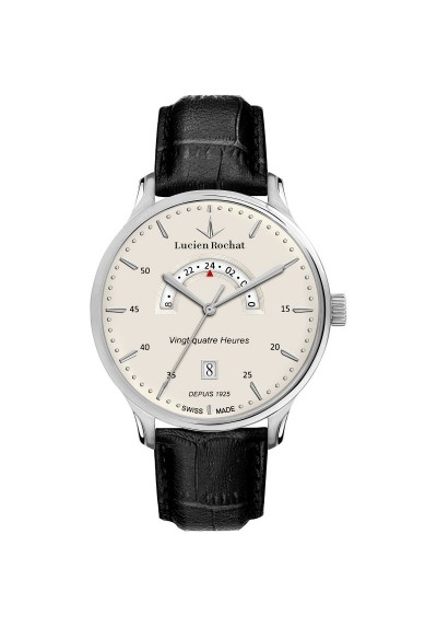 Watch Only time Man Lucien Rochat Lyon R0451113001