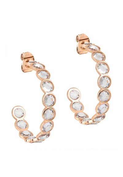 Earrings Woman Jewels Morellato Cerchi SAKM33