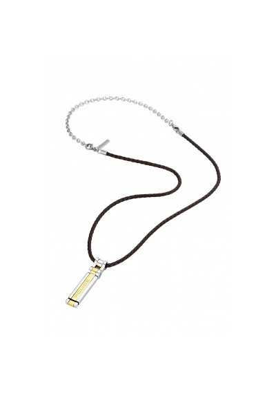 Necklace Man Jewels Police Thionville S14ANE11P